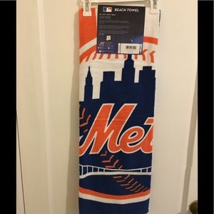 Mets beach towel
